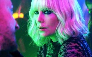 charlize theron dazzles in new film by director of john wick