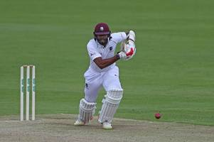 cricket: west indies tuck in to day - and night - of batting practice against derbyshire