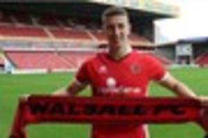 west bromwich albion utility man signs for walsall fc