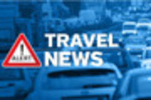 an accident has caused heavy delays on the m25 clockwise towards...