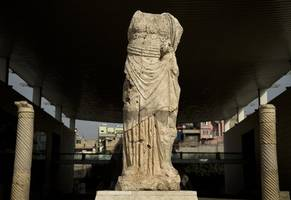 Archaeologists Unearth Remains Of Ancient Statue In Turkey