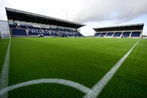 falkirk offer fans chance to watch championship clash with dumbarton whilst being dangled from a crane
