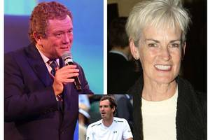 sir andy murray mimic told by star's mum judy that his impression of tennis champ is far 'too cheerful'