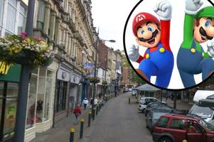 police want to speak to men dressed as nintendo characters mario and luigi over alleged assault
