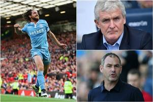 'Joe Allen is not for sale' - Stoke City boss Mark Hughes insists the Welshman won't be returning to Swansea City this summer