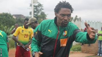 rigobert song resumes coaching role with local cameroon team