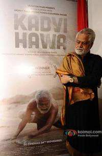 Sanjay Mishra Starrer Kadvi Hawa's First Look Unveiled By Global Head Of UN