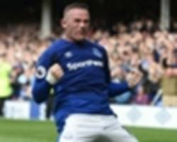 Everton 1 Stoke City 0: Rooney winner seals dream Premier League return