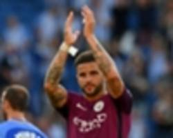 'it's better to play with a smile on your face' - walker loving life at man city after tottenham exit