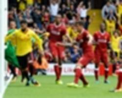 Klopp fumes as 'offside' goal denies Liverpool at Watford