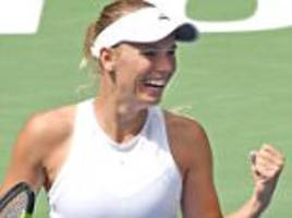 Caroline Wozniacki marches on to Rogers Cup final