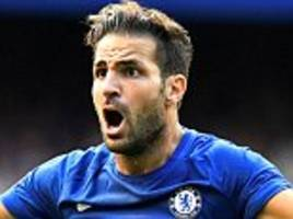 Chelsea 2-3 Burnley: Gary Cahill and Cesc Fabregas see red