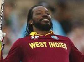 chris gayle could return to face england in odi series