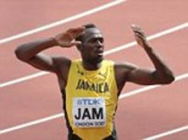 Usain Bolt thanks crowd for support at World Championships