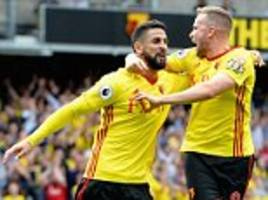 Watford 3-3 Liverpool: Miguel Britos earns dramatic draw