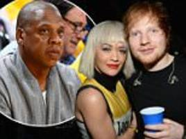 rita ora praises ed sheeran help with jay z legal battle