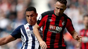 hegazi scores as west brom defeat bournemouth
