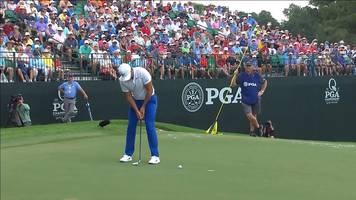 us pga championship 2017: jason day off to flyer with birdie at 2nd