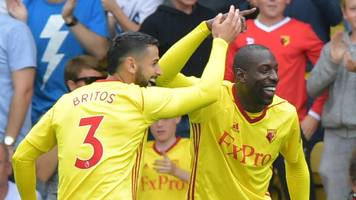 Watford earn dramatic draw in thriller with Liverpool
