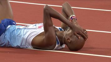 World Athletics Championships 2017: GB's Farah ends career with world silver in 5,000m