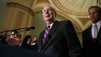 some republicans take sides in trump, mcconnell spat