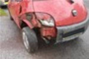 Banned driver who claimed 'wind' damaged his car escapes jail