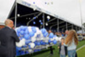 Billericay Town unveil the Harry Parker Stand at brand new AGP...