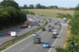 two lanes on the m23 will be closed next week in both directions