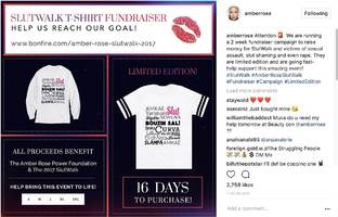 amber rose has perfect shirt for every slutwalk enthusiast