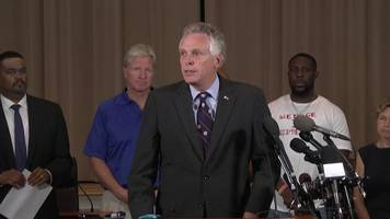 Virginia governor tells white supremacists: 'Go home'