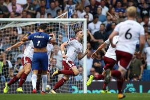 chelsea 2-3 burnley: gary cahill and cesc fabregas sent off in opening weekend shocker - 5 talking points