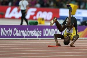 Great Britain win stunning gold in men's sprint relay as Usain Bolt's career ends in agony
