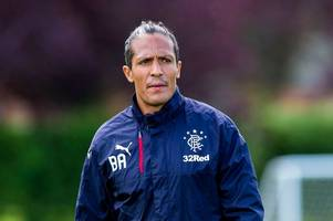 rangers star bruno alves out to cast a net over anthony stokes to help gers keep winning run going