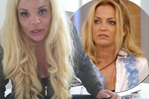 Trisha Paytas threatens to expose massive unseen secret about Sarah Harding and promises her a 'rude awakening' after Celebrity Big Brother