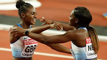 World Athletics Championships 2017: Great Britain take silver in women's 4x100m relay