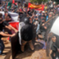 Virginia city rocked by white nationalist protests; 1 arrest