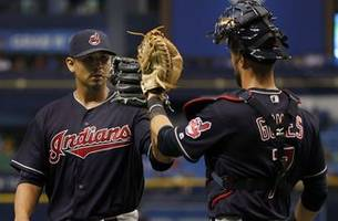 carlos carrasco carries no-hitter into 7th as indians blank rays, 5-0