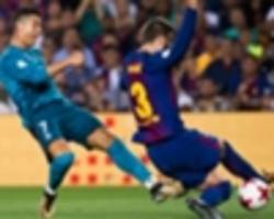 Barcelona 1 Real Madrid 3: Ronaldo hits wondergoal before seeing red in thrilling Supercopa clash