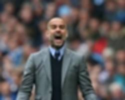 guardiola under pressure to win title for big spenders man city - guardiola