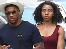 Anthony Joshua spotted with mystery woman on holiday