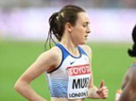 laura muir misses out on 5,000m medal as she comes sixth