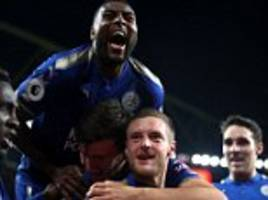 Leicester captain Wes Morgan tips Jamie Vardy to impress