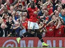 Man United 4-0 West Ham PLAYER RATINGS: Romelu Lukaku MOTM