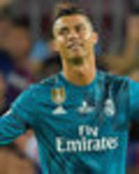 Cristiano Ronaldo sent off: Real Madrid star shoves referee minutes after sensational goal