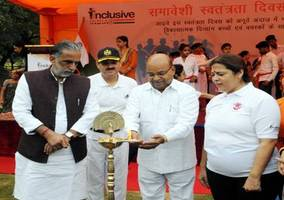 Thaawarchand Gehlot inaugurates Inclusive Independence Day Celebrations