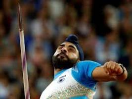 kang disappoints in javelin final, finishes 12th