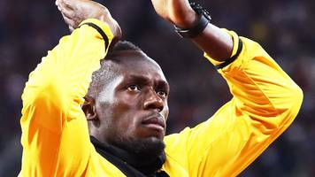 World Championships 2017: Usain Bolt 'says goodbye to everything' as he retires