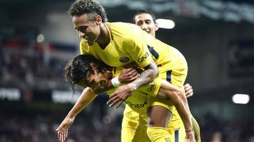 Neymar scores on Paris St-Germain debut against Guingamp