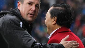 malky mackay: owner vincent tan says ex-cardiff boss an 'idiot' over cornelius signing