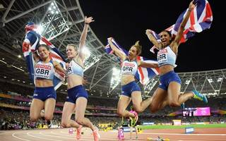 britain round off championships with relay silver and bronze